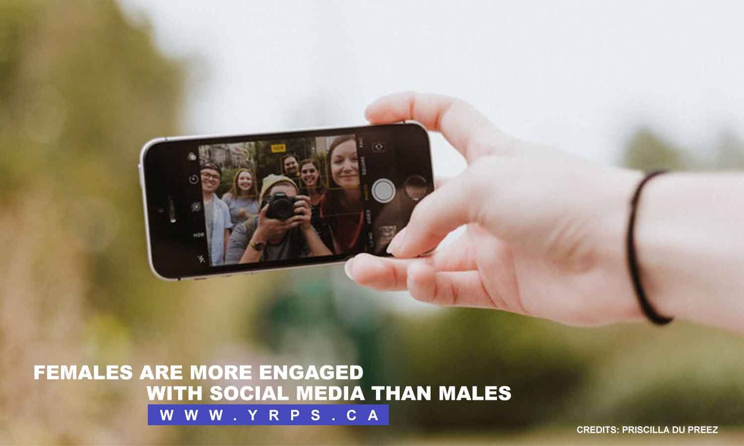 Females are more engaged with social media than males