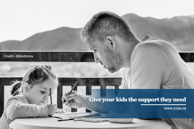 Give your kids the support they need