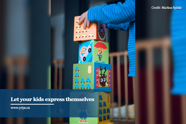 Let your kids express themselves