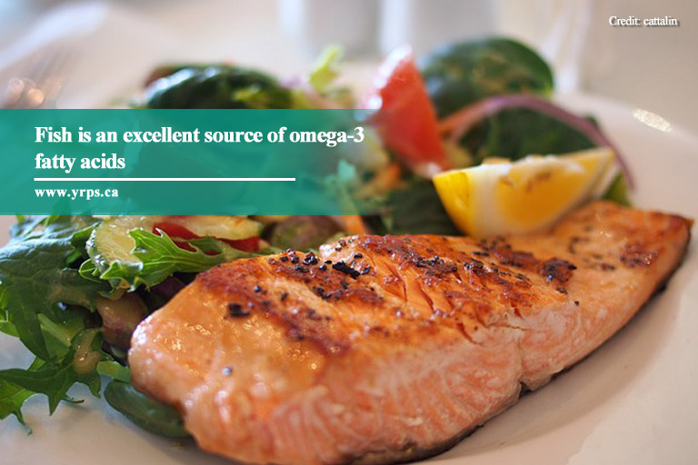 Fish is an excellent source of omega-3 fatty acids