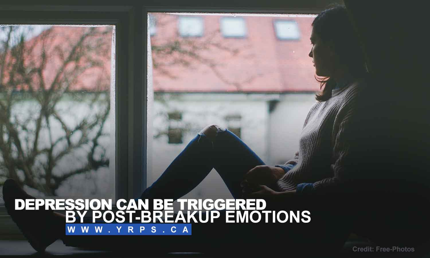 Depression can be triggered by post-breakup emotions